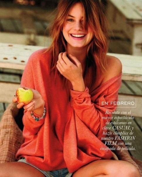 Сьемка: Камилла Роу для Elle Spain Febriary 2012. Изображение № 2.