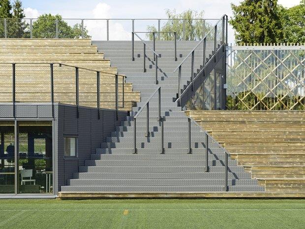 Стадион Lidingövallen авторства DinellJohansson) . Изображение № 19.