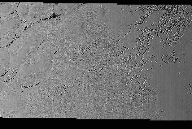New Horizons заснял ямы и желоба на Плутоне. Изображение № 1.