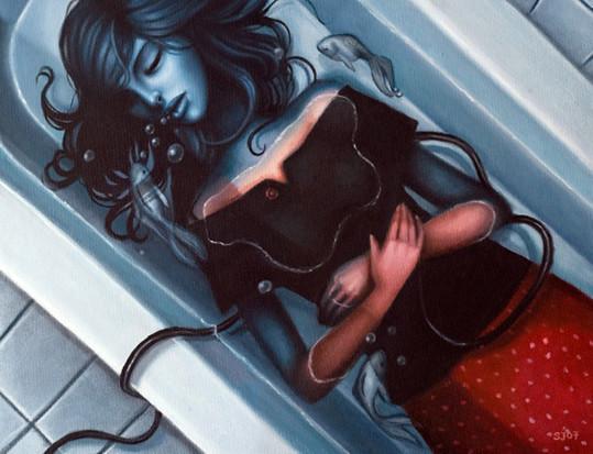 Sarah Joncas – девушки, рыбы измеи. Изображение № 9.