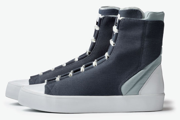 ADIDAS SLVR HIGH TOP LACE. Изображение № 2.