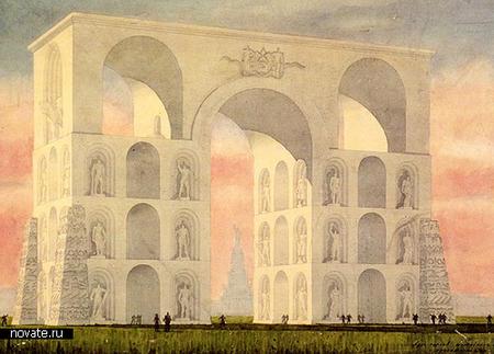 Самые грандиозные невоплощённые архитектурные проекты. Изображение № 2.