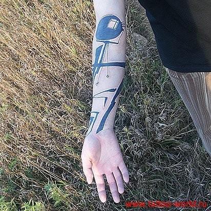 Татуировки в стиле Иннормизма. Изображение № 19.