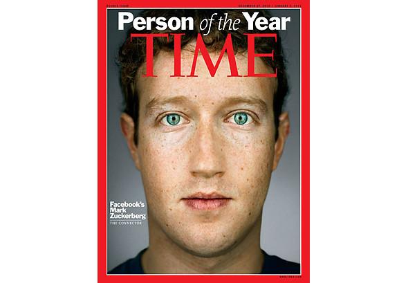 Человеком года по версии Time стал Марк Цукерберг. Изображение № 1.