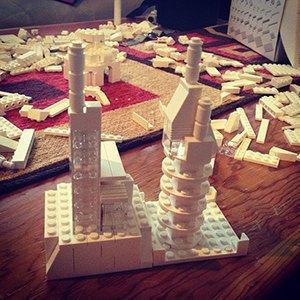 Архитекторы тестируют новый конструктор LEGO Architecture Studio. Изображение № 18.