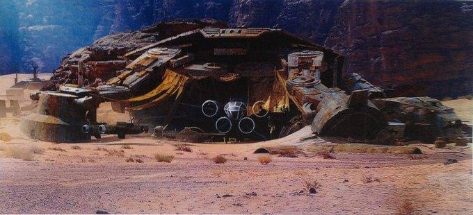В Сеть выложили 32 концепт-арта для «Звёздных войн VII». Изображение № 18.