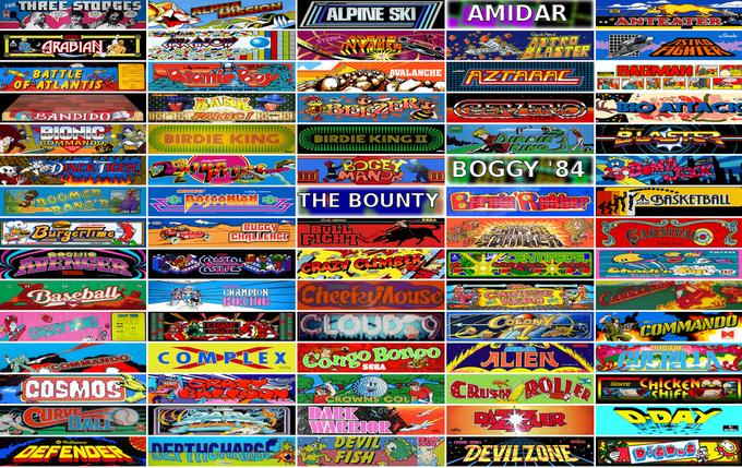 Internet Archive выложил в сеть 900 аркадных игр. Изображение № 1.