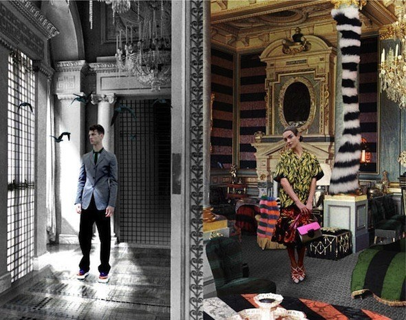 Изображение 7. Prada Fantasy Lookbook SS 2011.. Изображение № 8.