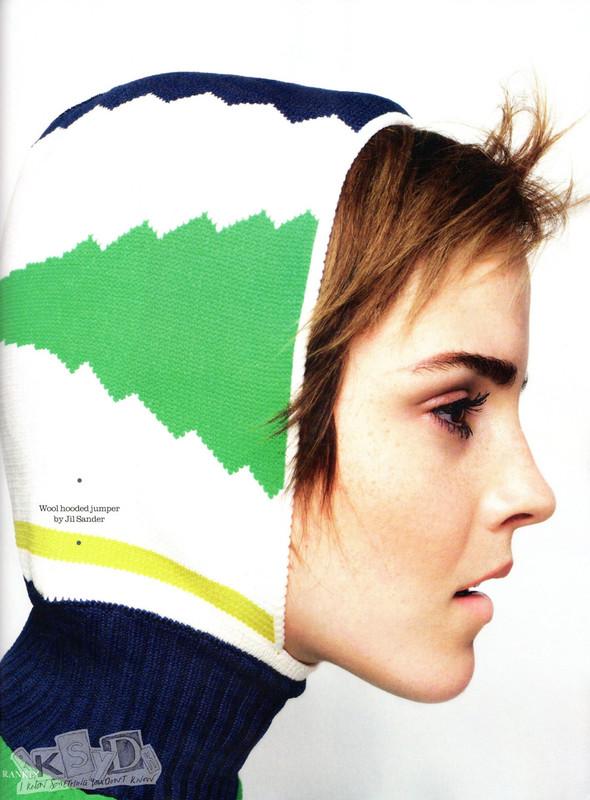 Съёмка: Эмма Уотсон и Ранкин для Elle. Изображение № 5.