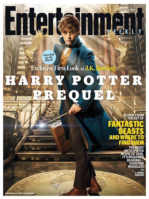 Появились кадры сЭдди Редмэйном вспин-оффе «Гарри Поттера». Изображение № 1.