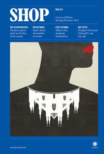 Самые красивые обложки журналов в 2011 году. Изображение № 89.