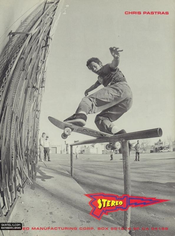 Крис Пастрас vs. Дейв Свифт: как начинался The Skateboard Mag. Изображение № 1.