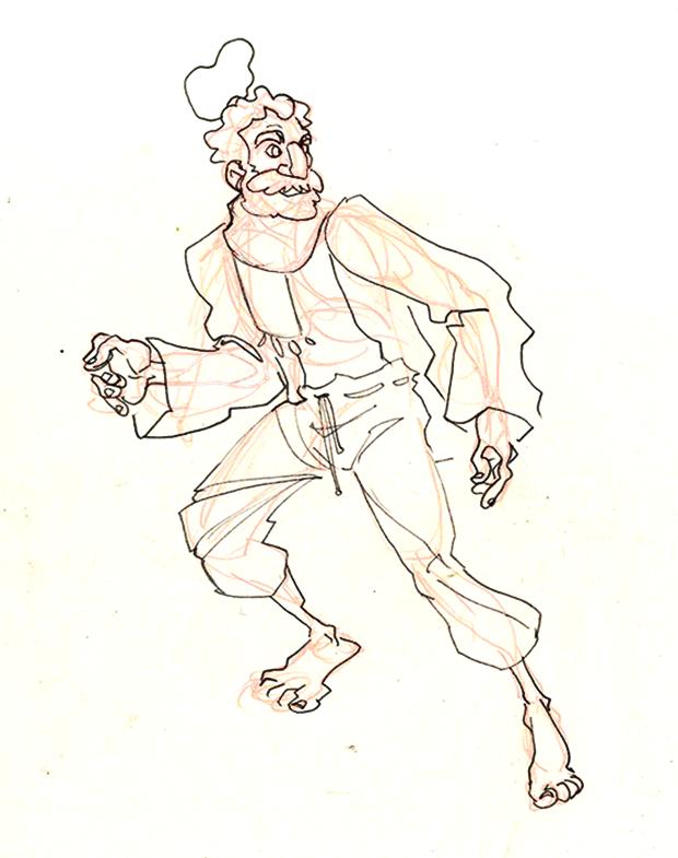 Анимация: бродяга спасает пса встимпанковском городе. Изображение № 4.