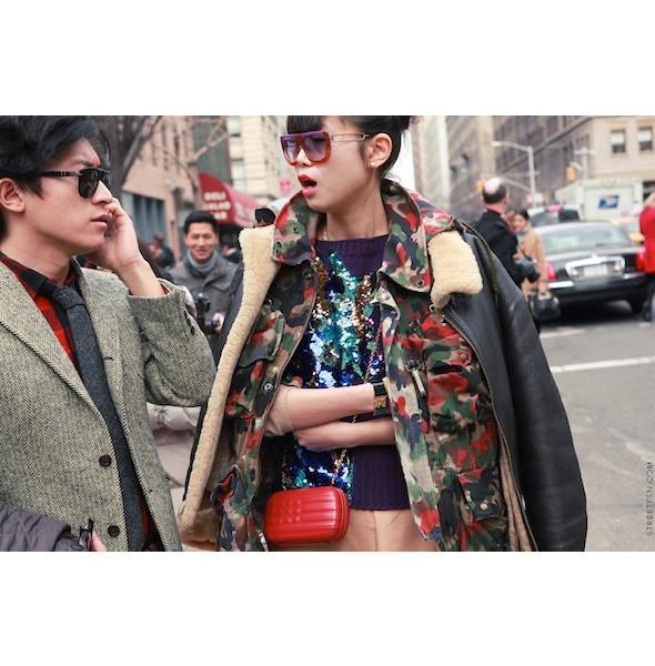 Изображение 31. На полях: 10 тенденций уличного стиля с прошедших недель моды.. Изображение № 31.