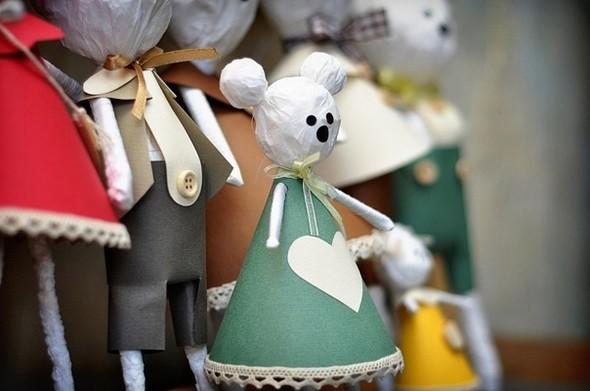 MiskaMoloka душевные игрушки ручной работы из бумаги. Изображение № 5.