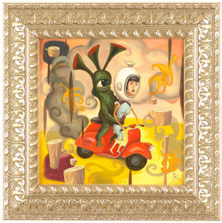 Эйсид-поп сюрреализм Тодда Шорра. Изображение № 47.