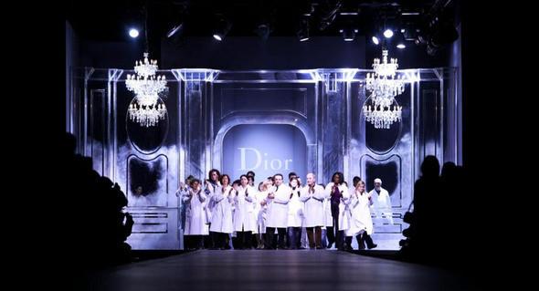 Показ Dior FW 2011. Изображение № 32.