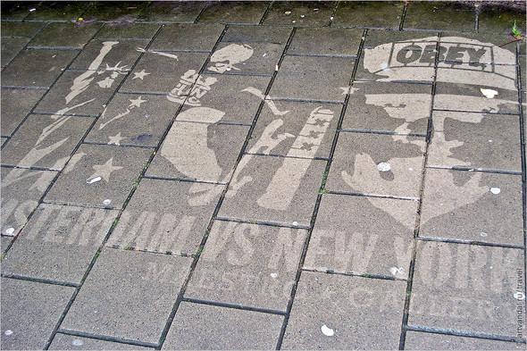 Стрит-арт и граффити Амстердама, Нидерланды. Изображение № 29.