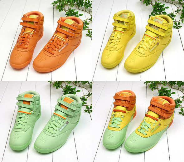Reebok Freestyle Hi  Spring-Summer 2009. Изображение № 1.