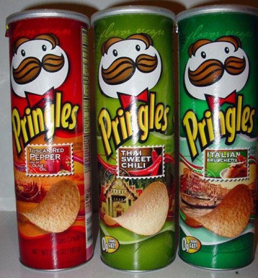 Несъедобное съедобно - какие бывают чипсы. Изображение № 51.