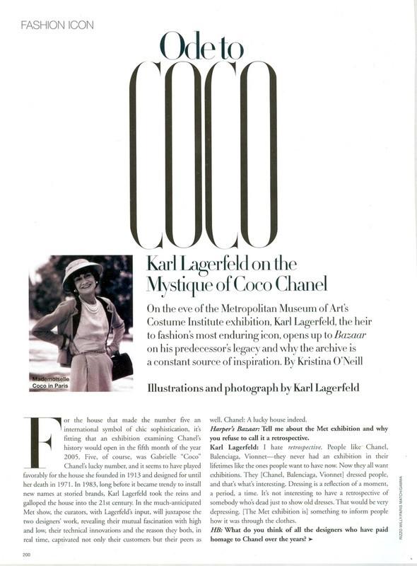 Карл Лагерфельд дляChanel: взгляд назад. Изображение №50.