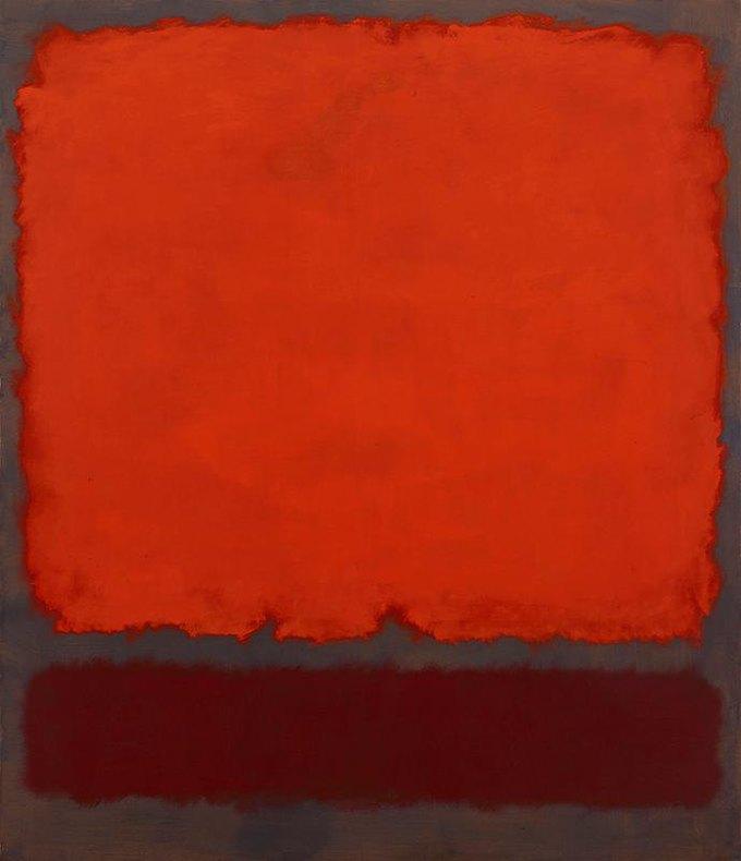 "Марк Ротко ""Orange Red & Red"" (1962). Изображение № 2."