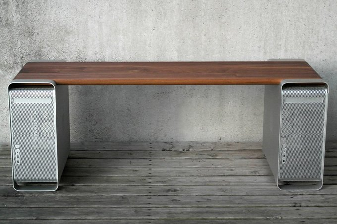 Дизайнер создал мебель изкомпьютера Apple. Изображение № 2.