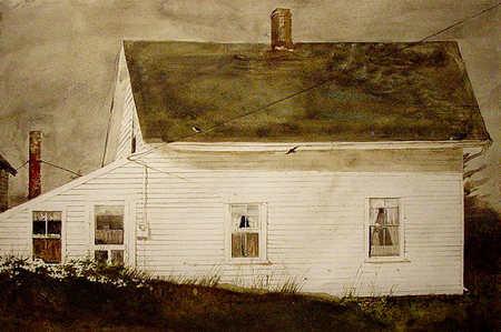 Andrew Wyeth- живопись длясозерцания иразмышления. Изображение № 11.