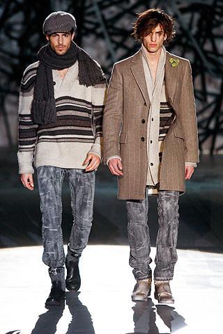 Что носить осенью: мужские показы в Милане. Изображение № 239.
