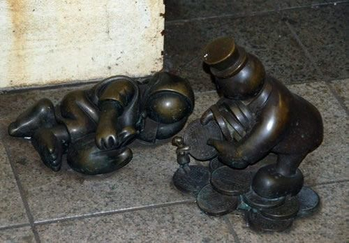 Скульптуры вНью-Йоркском метро. Изображение № 3.