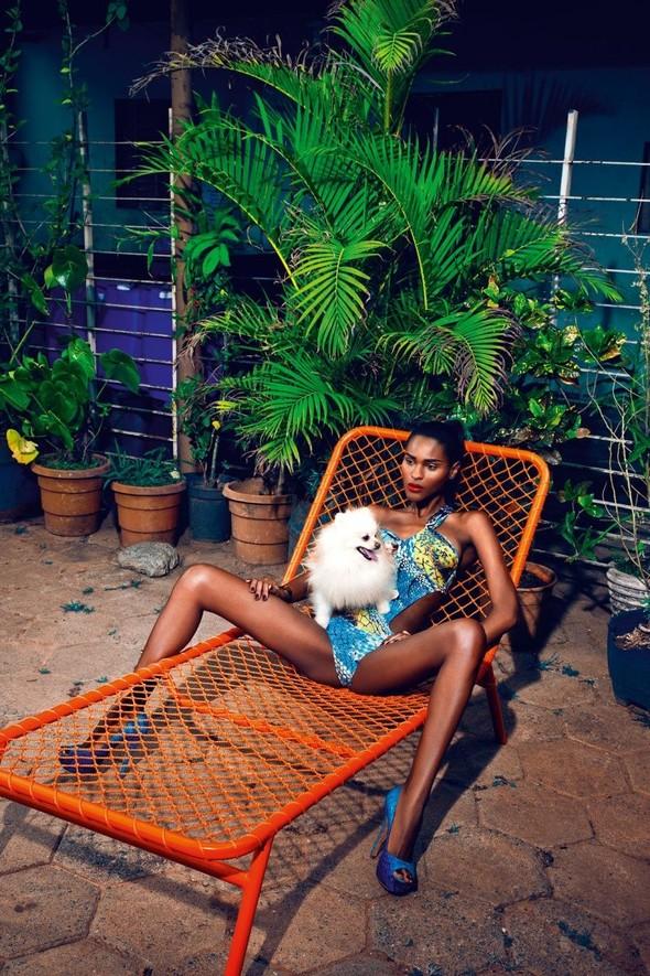 Съёмка: Кармелита Мендес и Барбара ди Креддо для Elle. Изображение № 5.
