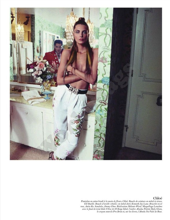 Съёмка: Дарья Вербова для французского Vogue. Изображение № 44.