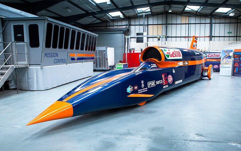 Как выглядит самый быстрый автомобиль  в мире. Изображение № 2.