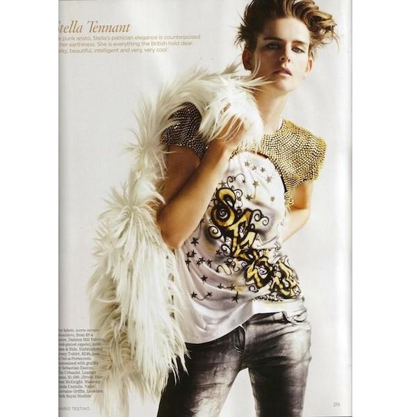 Новые съемки: Elle, Marie Claire, Vogue и другие. Изображение № 43.