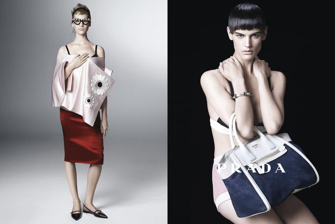 Вышла кампания Prada с Пивоваровой и Зиммерманн. Изображение № 4.
