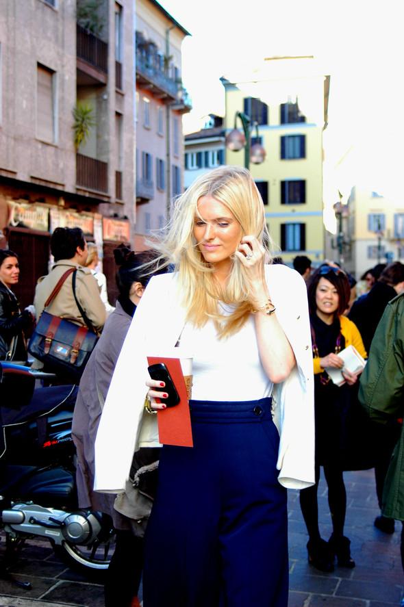 Milan Fashion Week. За кадром. Изображение № 20.