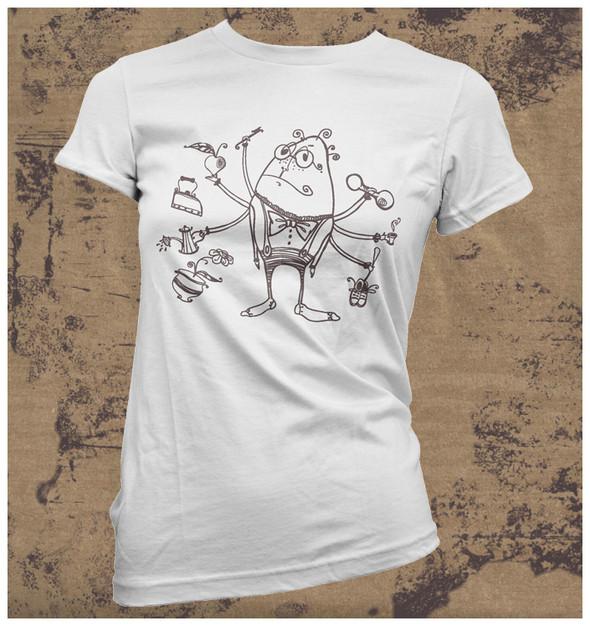 Изображение 30. Принтовые футболки.. Изображение № 30.