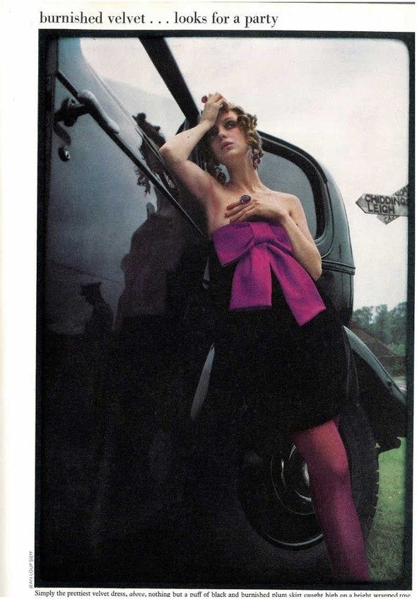 DONNA MITCHELL: Vogue UK, October 1967. Изображение № 4.