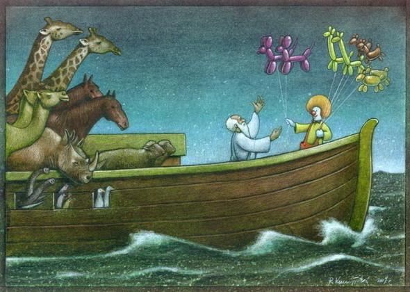 Изображение 3. Карикатурист Pawel Kuczynski.. Изображение № 3.