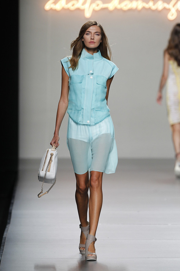 Madrid Fashion Week SS 2012: Adolfo Dominguez. Изображение № 23.