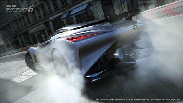 Концепт: суперкар Infiniti для игры Gran Turismo. Изображение № 38.