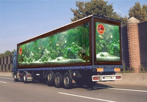 Потрясающая реклама на грузовиках. Изображение № 1.