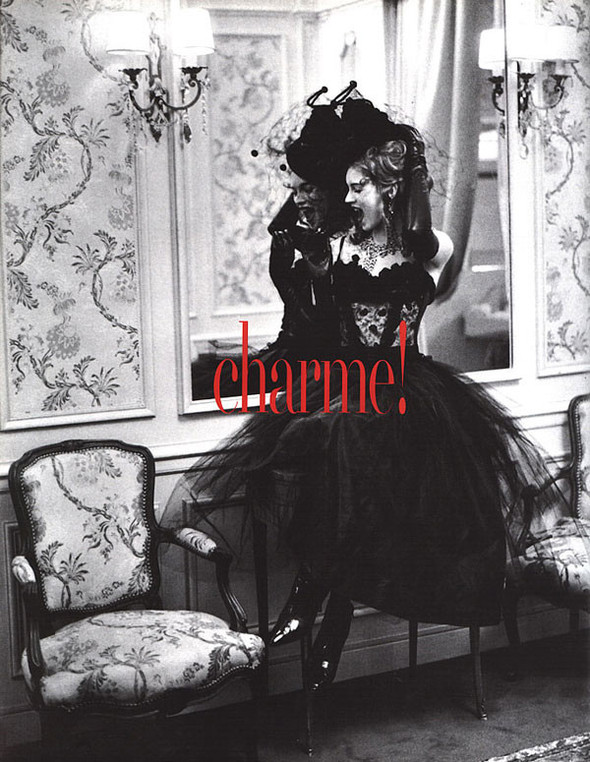 Архивная съёмка: Кейт Мосс для итальянского Vogue, 1992. Изображение № 1.