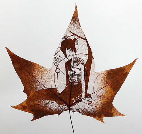 Резьба по листьям. Изображение № 16.