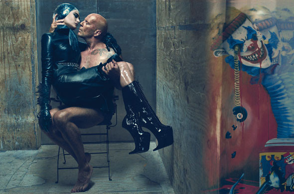 Mr. & Mrs. Willis by Steven Klein. Изображение № 9.