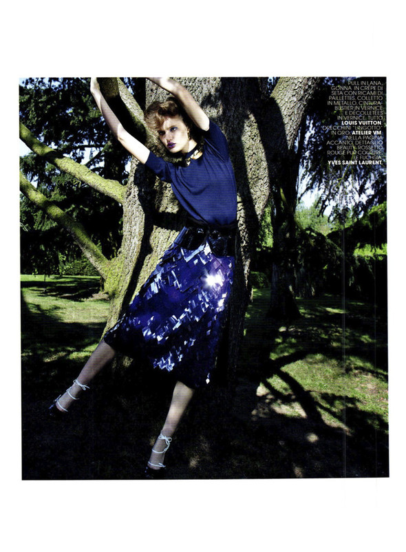 Съёмка: Кэти Фогарти для Marie Claire. Изображение № 12.