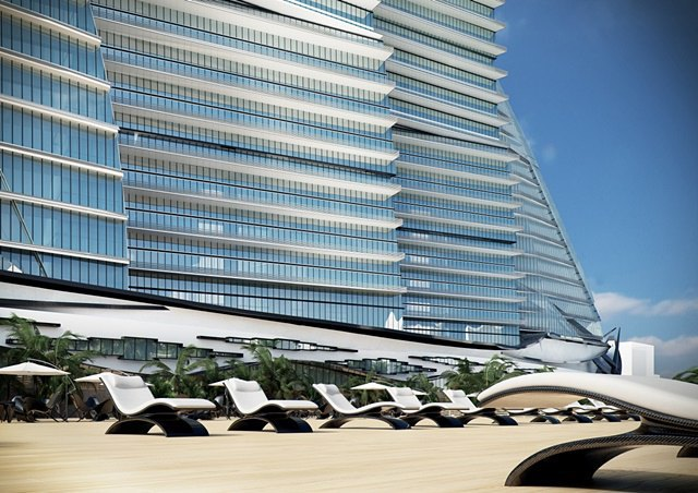 Российский архитектор показал больницу-небоскрёб в виде яхты. Изображение № 12.