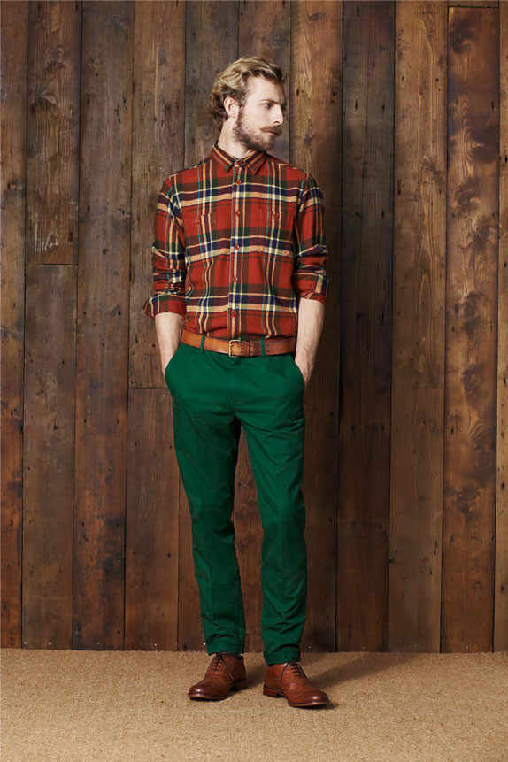 Ben Sherman Lookbook AW11. Изображение № 9.