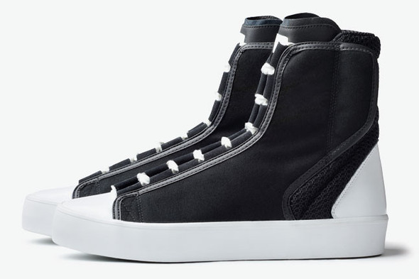 ADIDAS SLVR HIGH TOP LACE. Изображение № 1.