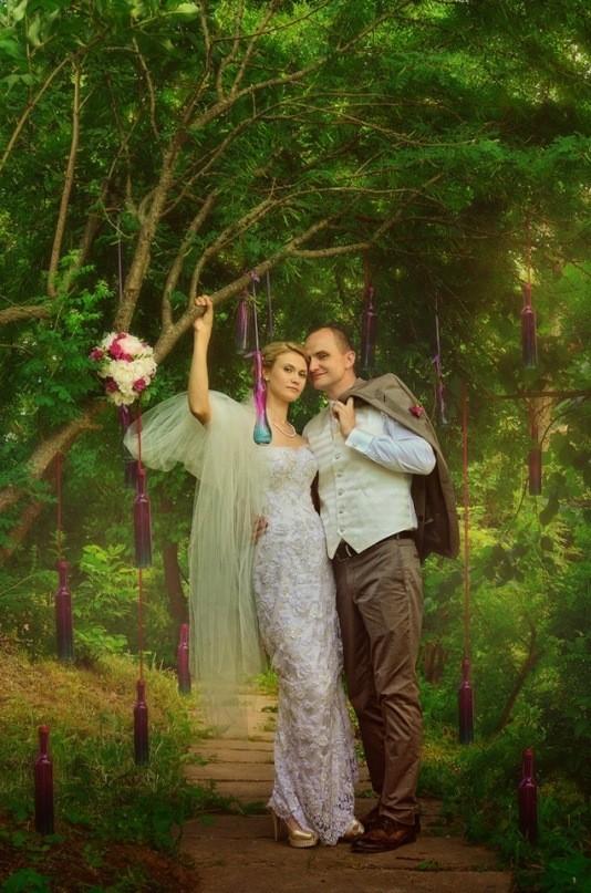 Цвет свадебного дня или праздник длиною в жизнь. Изображение № 33.